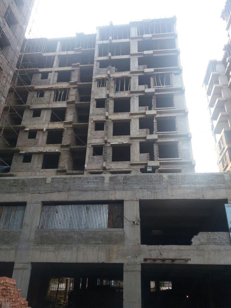 Block-2, Part B 11th floor casting done