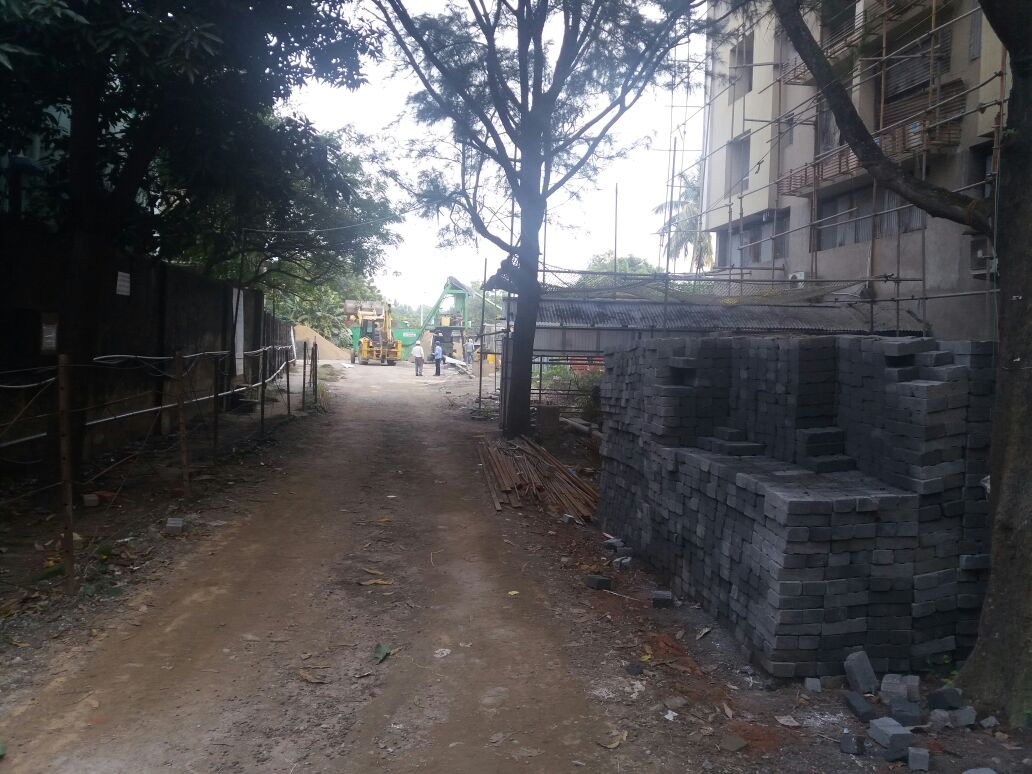 Path way towards marketing from B.T road entry from other blocks