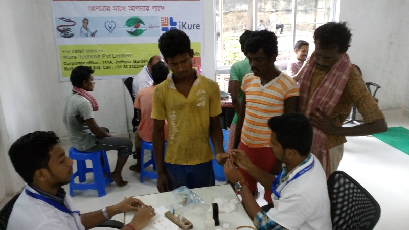 Health Check up Camp- September 2016