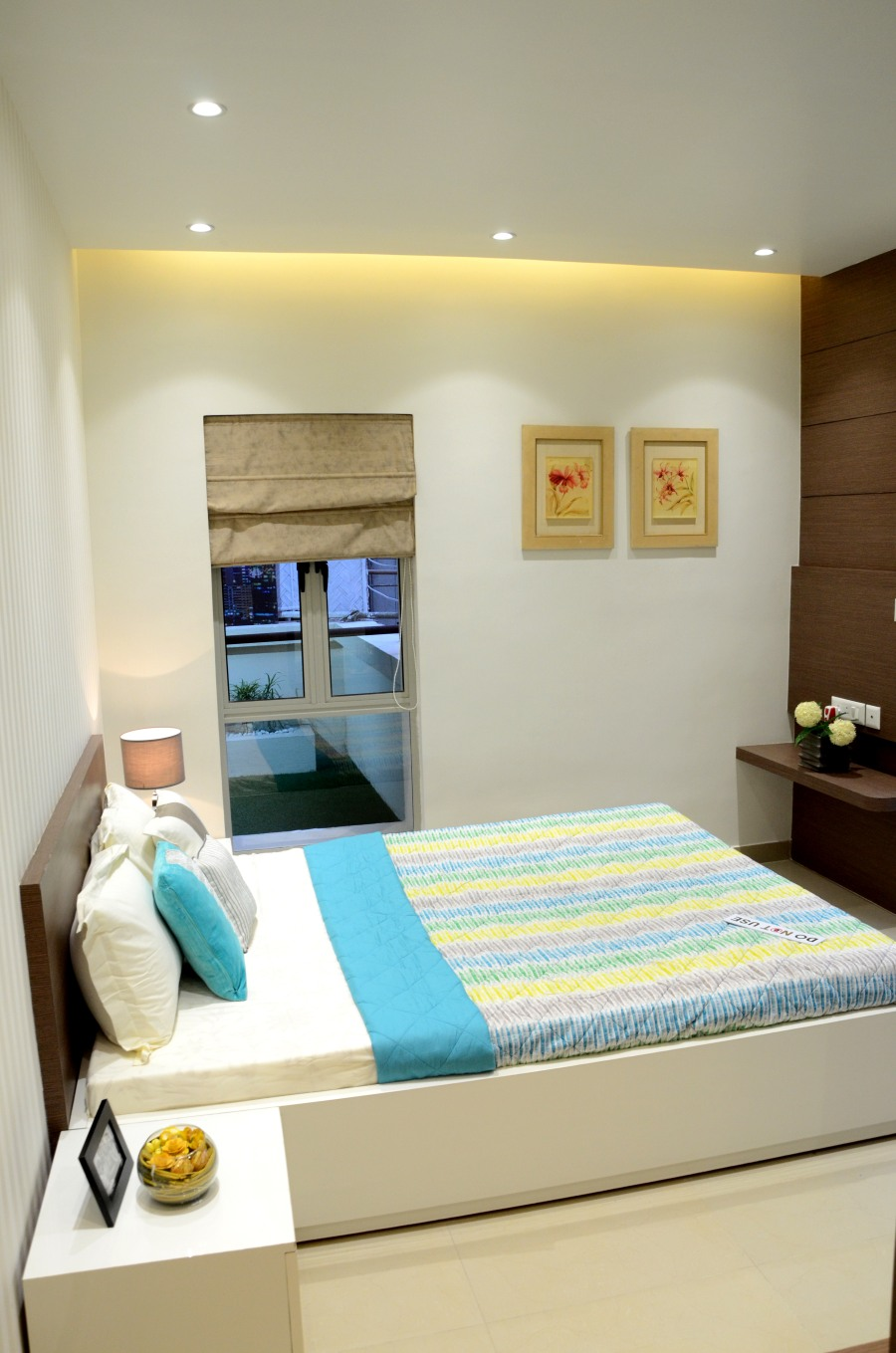Aurum Model Flat Bedroom