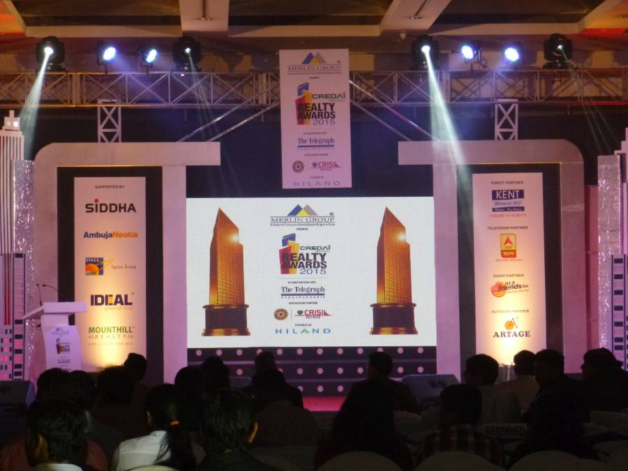 Credai Bengal Realty Awards 2015